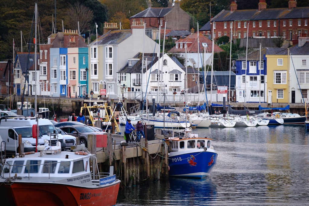 Colourful Weymouth Harbour