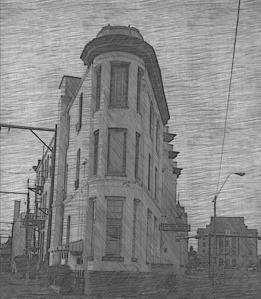 Texarkana - Texas - Arkansas - Harrell Building - Abandon