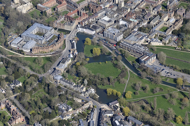Cambridge aerial image - Sheep's Green