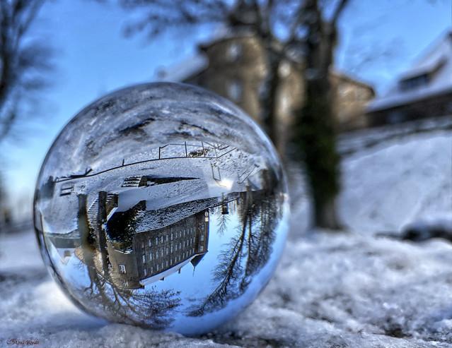 Das Märchenschloss in der Schneekugel