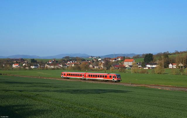 628 223 in Simtshausen