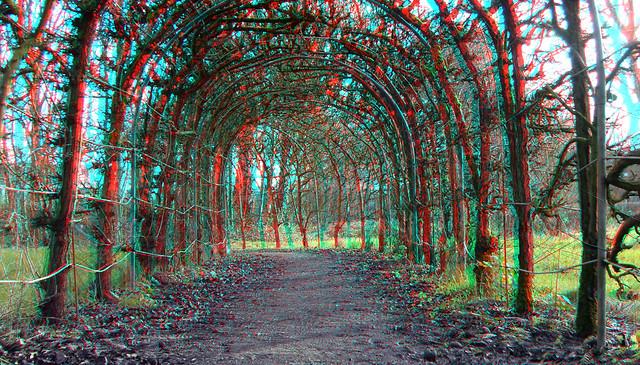 Tuin Kasteel Rhoon 3D