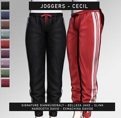 Joggers - Cecil