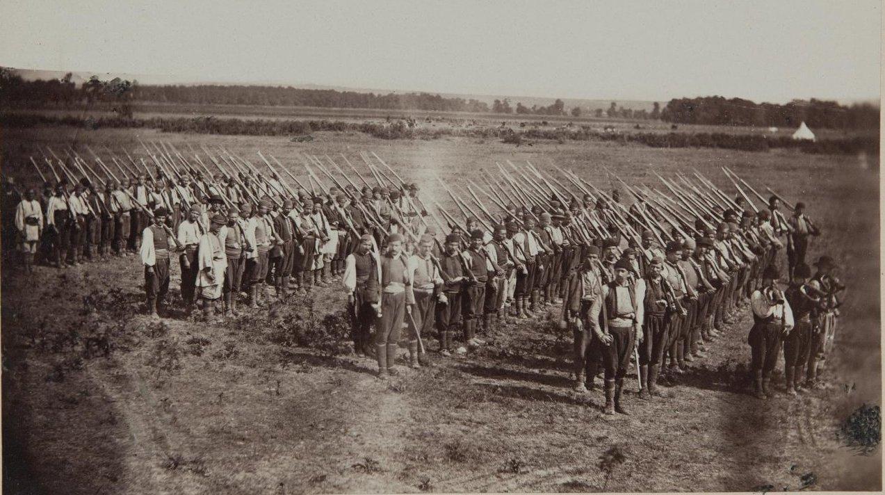 1876. Начало. Война Сербии с Турцией