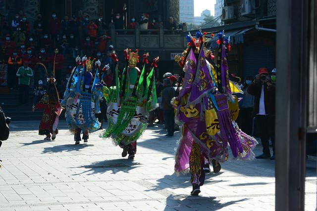 Electric San Tai-zi Performing