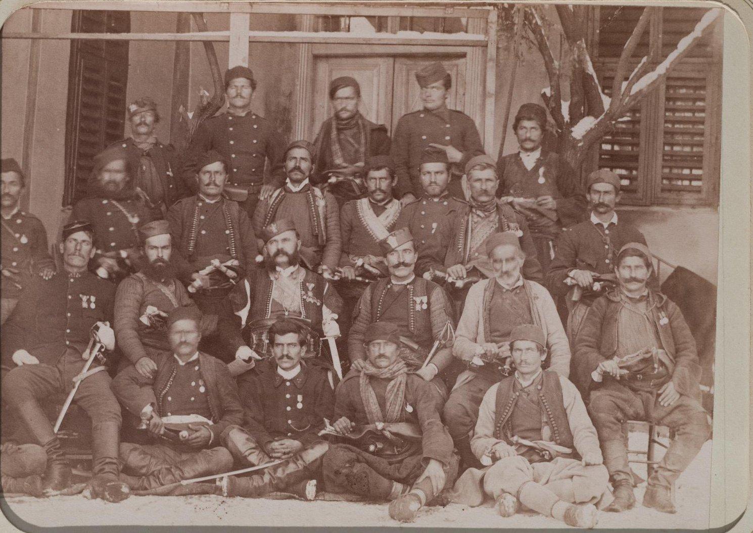 1876. Черногорский батальон