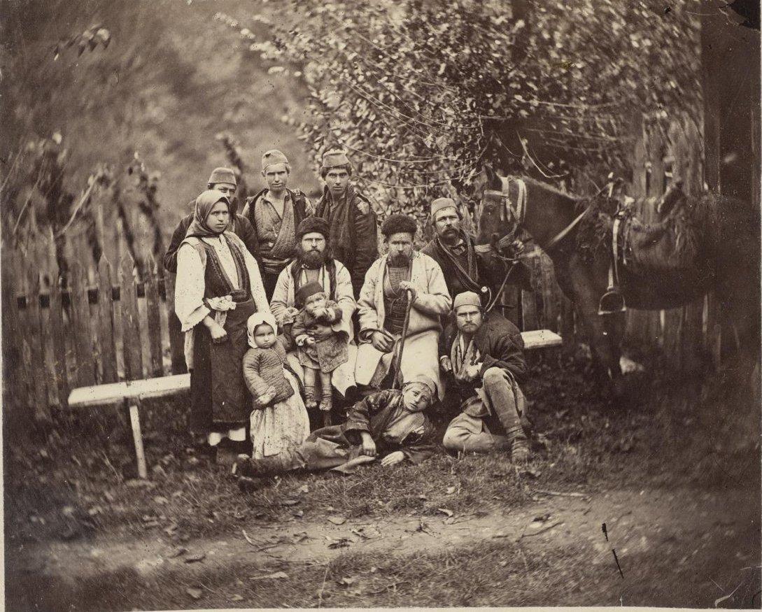 1876. Воспоминание о Сербии. Болгарские беглецы в долине Моравы