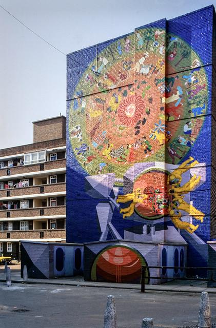 Mural, Greenwich, 1982 82-greenwich-003