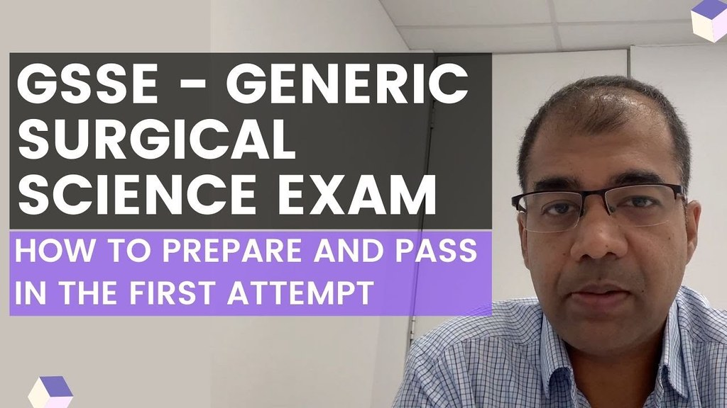 GSSE - Generic Surgical Science Exam (RACS) Australia - How to pass in the first attempt