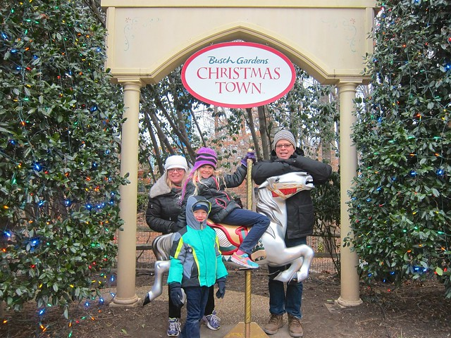 The Four Of Us At Christmas Town
