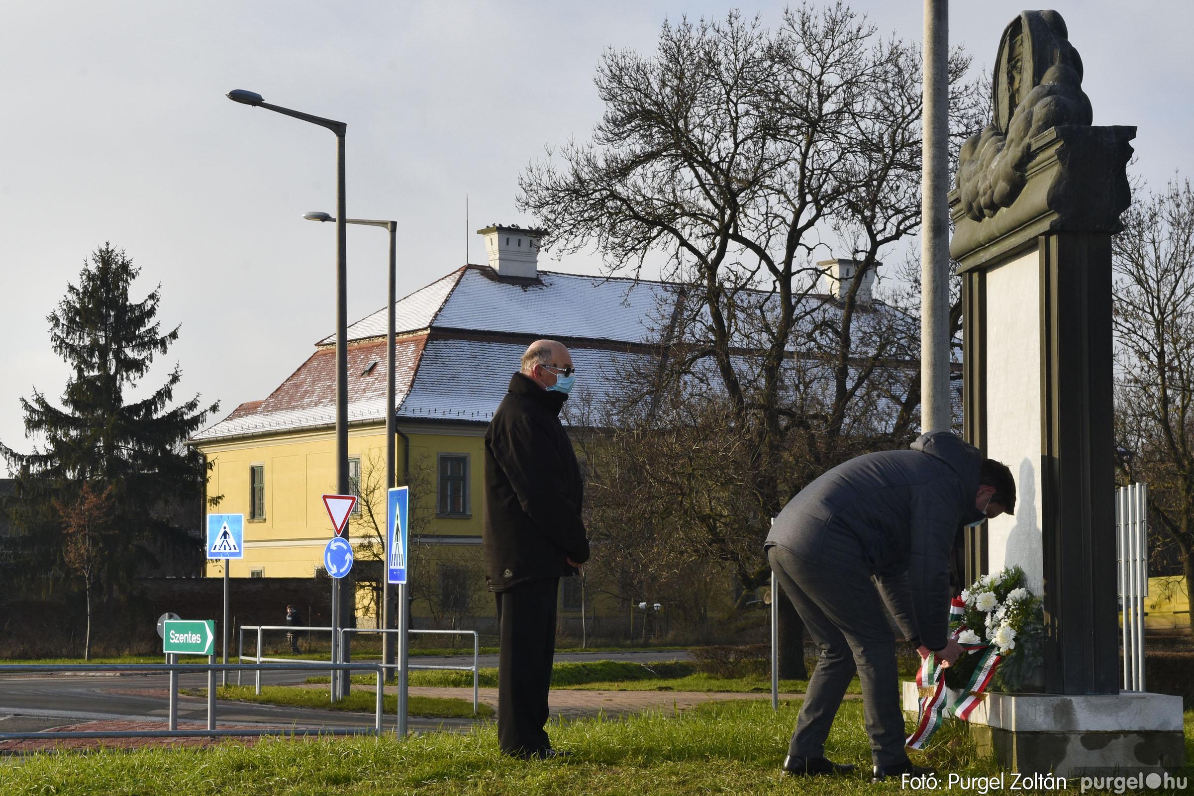2021.01.12. 011 Megemlékezés a Doni katasztrófa hőseiről - Fotó: Purgel Zoltán© _DSC3651q