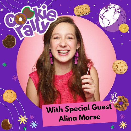 USAGSO's Cookie Rally Special Guest: Alina Morse