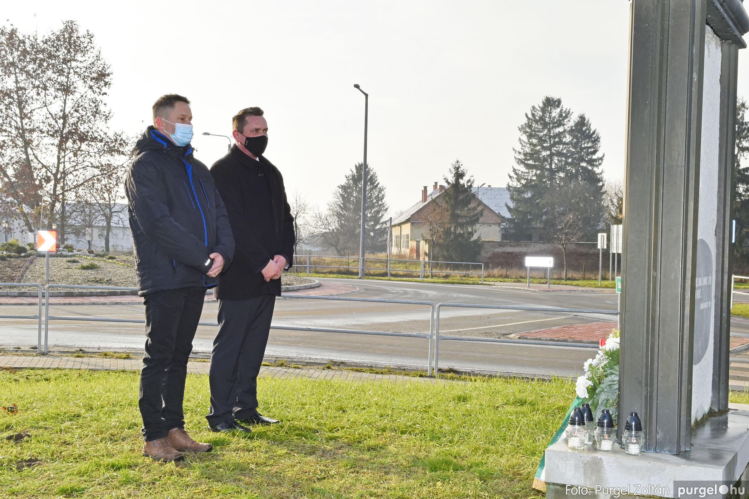 2021.01.12. 016 Megemlékezés a Doni katasztrófa hőseiről - Fotó: Purgel Zoltán© _DSC3659q
