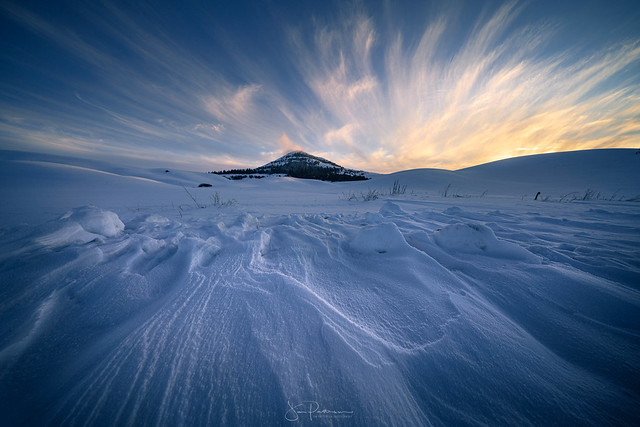 Steptoe Butte in Winter