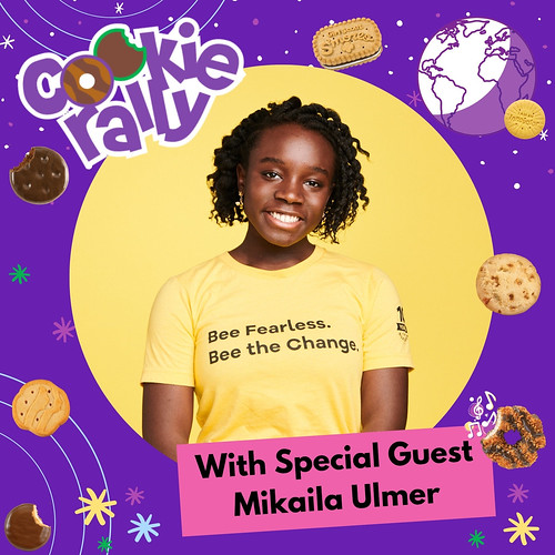 USAGSO's Cookie Rally Special Guest: Mikaila Ulmer