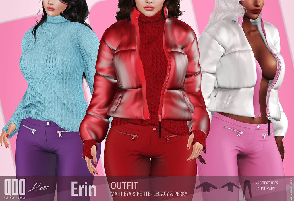 New release – [ADD] Erin Outfit