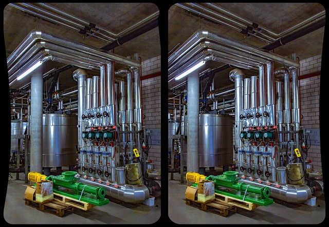 Spa infrastructure 3-D / CrossView / Stereoscopy