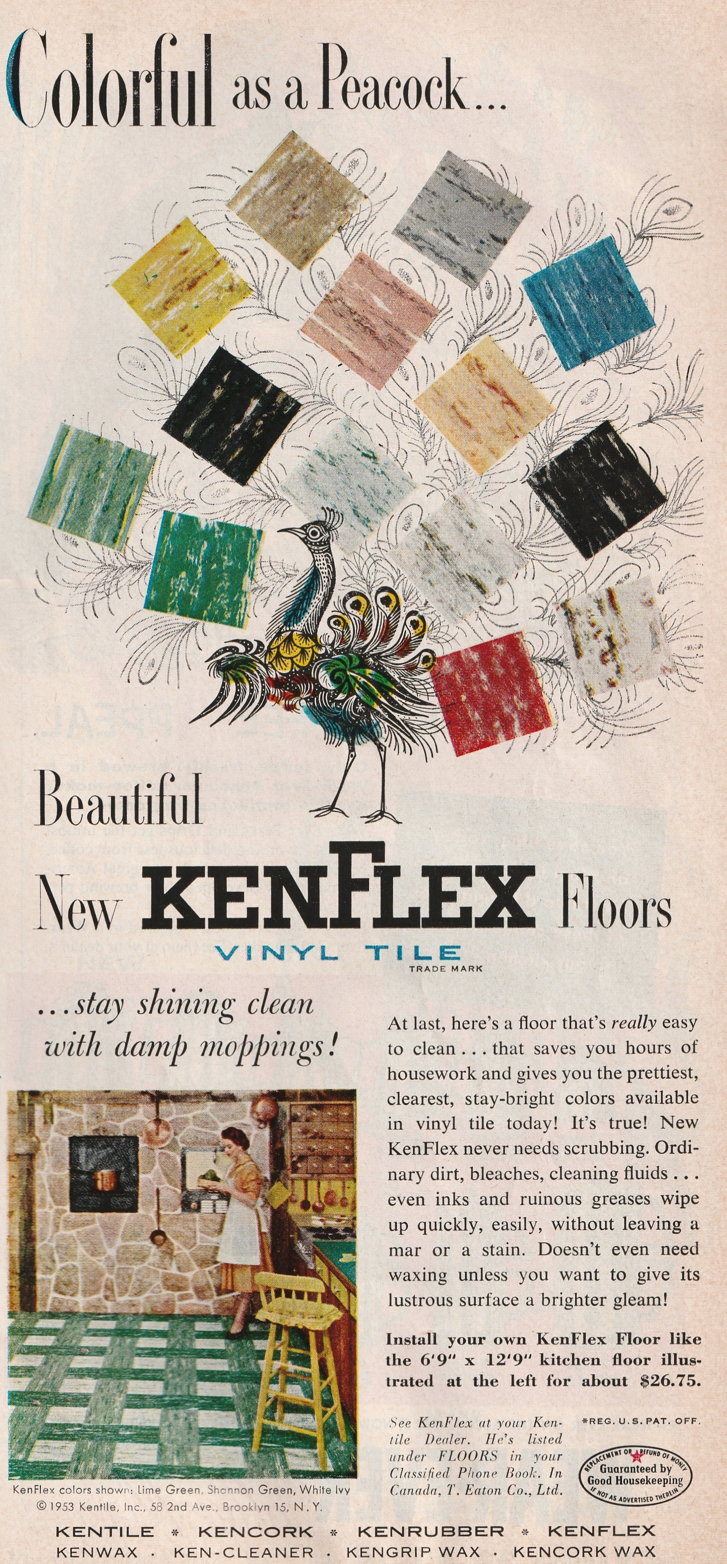KenFlex - published in Good Housekeeping - March 1954