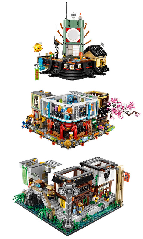 NINJAGO City Split