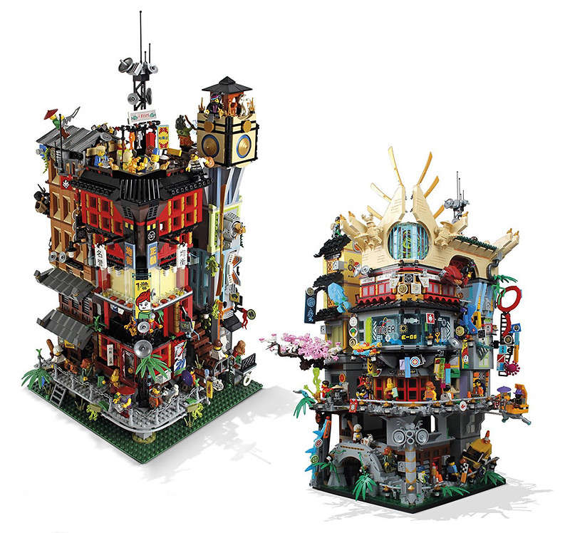 NINJAGO CIty Concepts