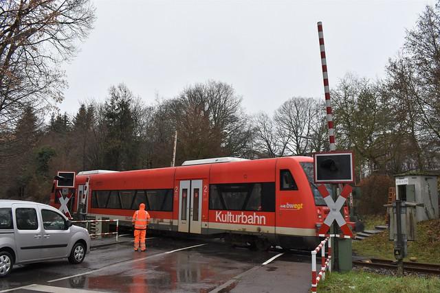 Technische Störung Bahnschranke - 12.01.2021