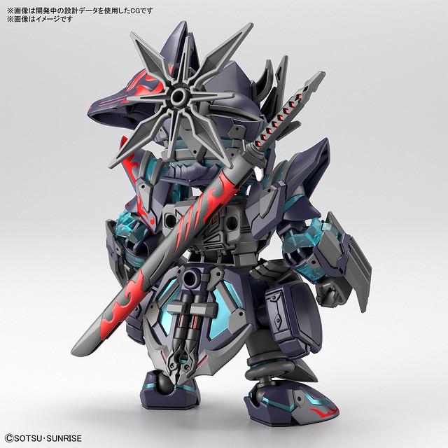 SDW HEROES《SD鋼彈世界 群英集》佐助δ(Delta)鋼彈 暗中護主的忍者現身!