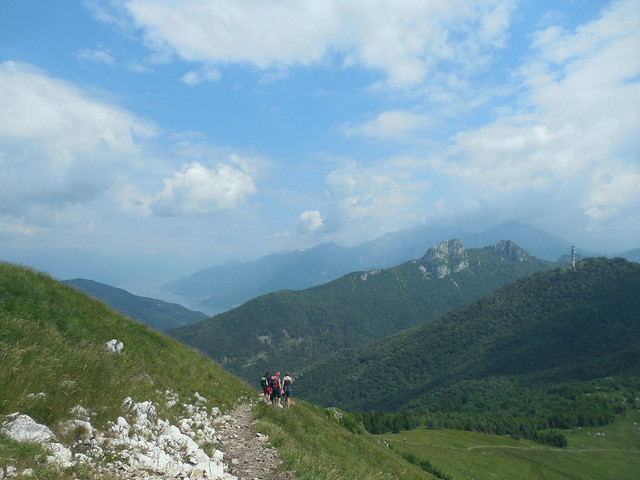 Corni di Canzo and Lake Como