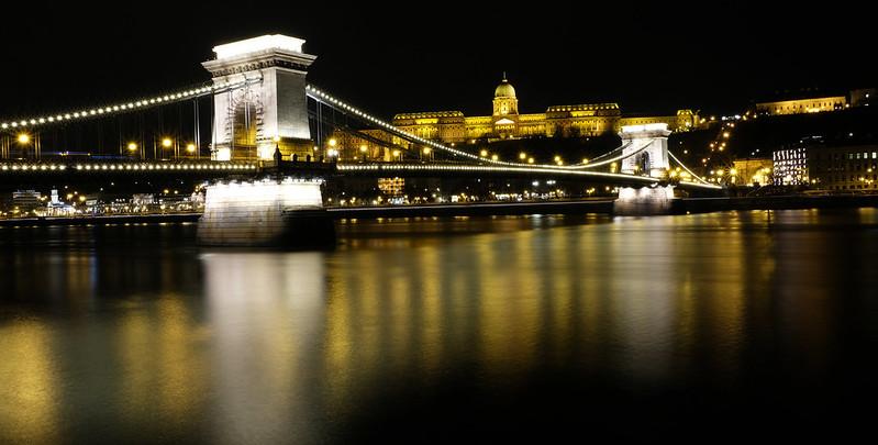 Buda Castle & Chain Bridge, Budapest, Hungary