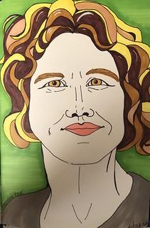 Hannelore Keim for Julia Kay's Portrait Party