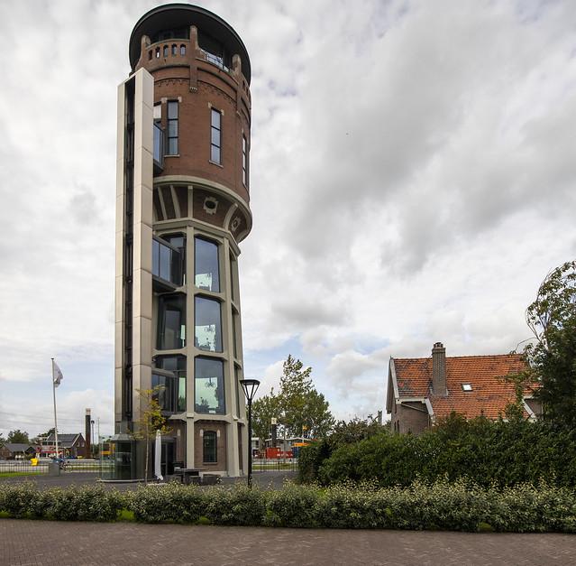 Water tower Hazerswoude Rijndijk