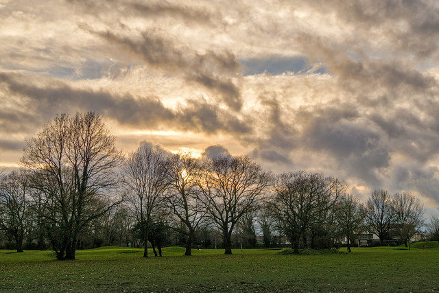 Golf Course Sky