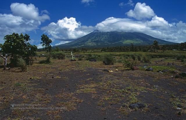 Legazpi, Mayon Volcano from Cagsawa
