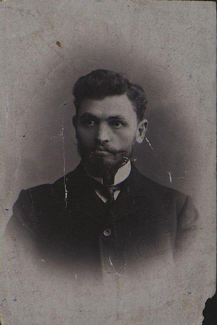 Ферхо Д.И., рабочий Дальницкого завода Гена. 1910-1912 гг.