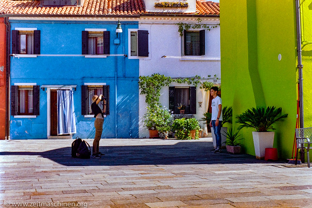 Shooting in Burano