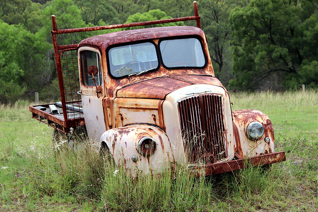 Rusting in the Hunter