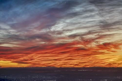 elpaso texas sunset sky clouds drama landscape sonya7riii sonyfe100400mmf4556gmoss
