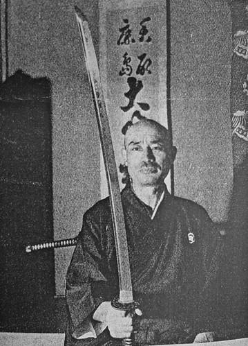 19 Representante de Musô Jikiden Eishin ryû iaijutsu Kono Kanemitsu