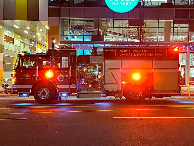 North Vancouver City, BC Engine 10