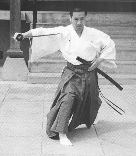 21 representante de Musô Jikiden Eishin ryû iaijutsu: Sekiguchi Komei