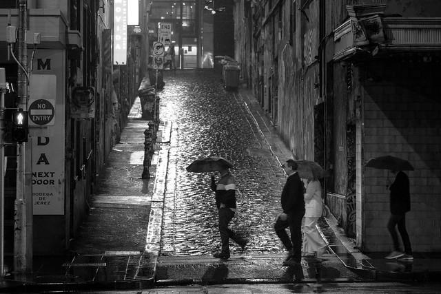 Hosier Lane, Melbourne.