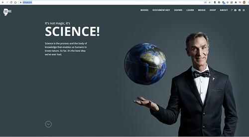 Bill Nye, el mejor educador de ciencia