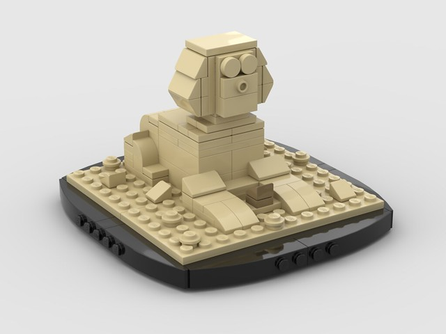 Lego Mini Sphinx
