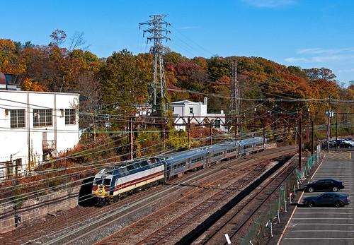 njt njtransit erielackawanna heritageunit alp45dp bombardier morristownline train railfan railroad
