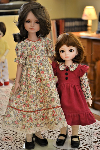 Daisy and Norah redressed | by Rosehollow