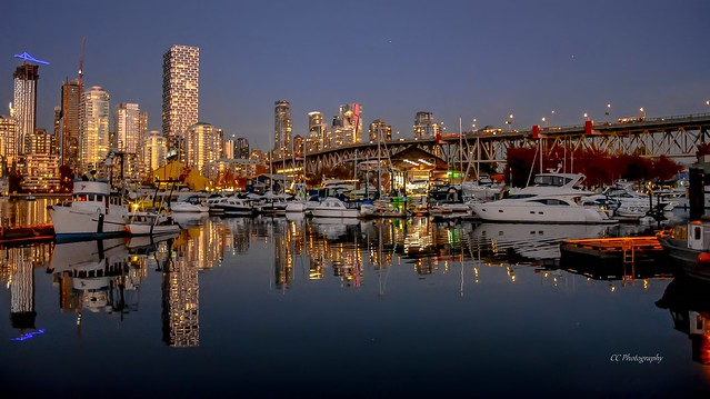 ALL THAT GLITTERS  - FALSE CREEK - VANCOUVER, BC