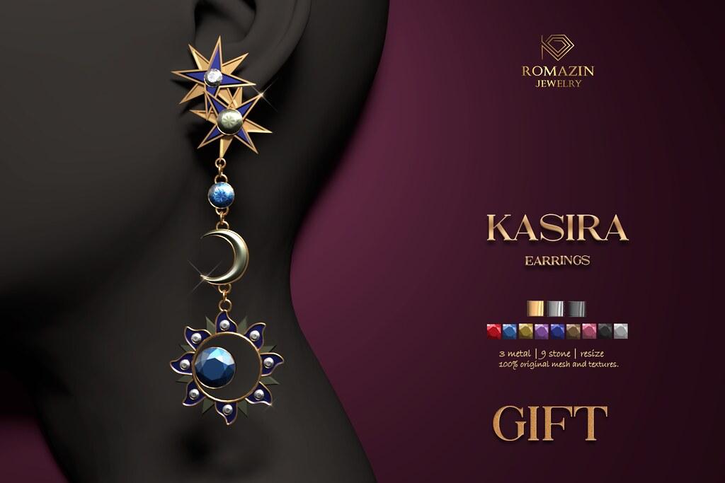 Romazin – Earrings <Kasira>, GIFT