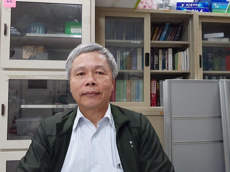 臺大機械系特聘教授楊鏡堂看好離岸風電的未來發展。圖/陳宏駿拍攝