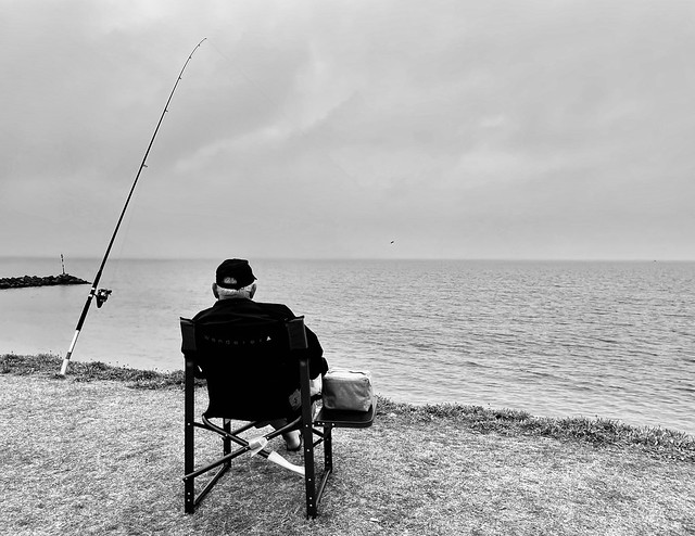 Waiting, Wanting, Wishing. . . Fishing.