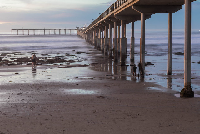 Ocean Beach Fishing Pier, San Diego, CA