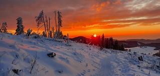 Sonnenaufgang am Hochlantsch